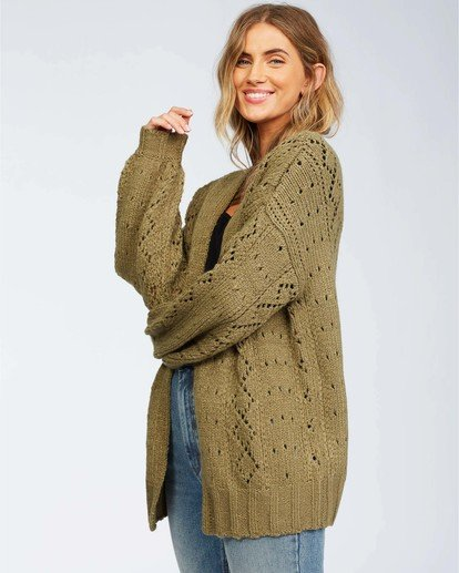 3 Blissed Out Sweater Green JV03WBBL Billabong