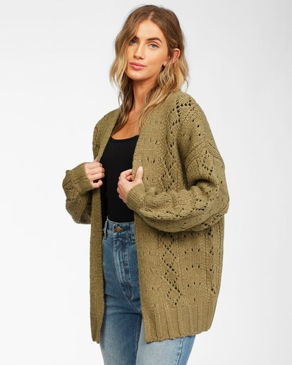 1 Blissed Out Sweater Green JV03WBBL Billabong