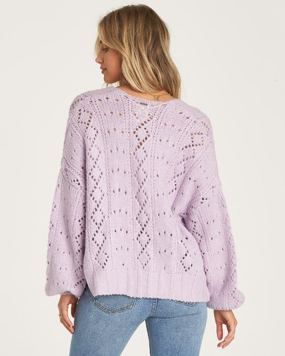 4 Blissed Out Sweater Purple JV03WBBL Billabong