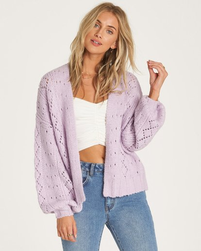 2 Blissed Out Sweater Purple JV03WBBL Billabong
