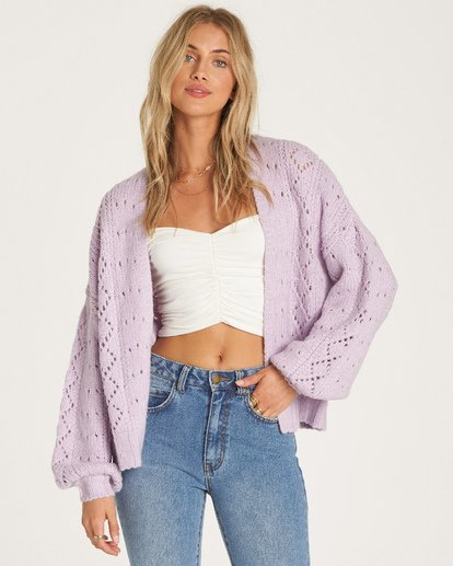 3 Blissed Out Sweater Purple JV03WBBL Billabong