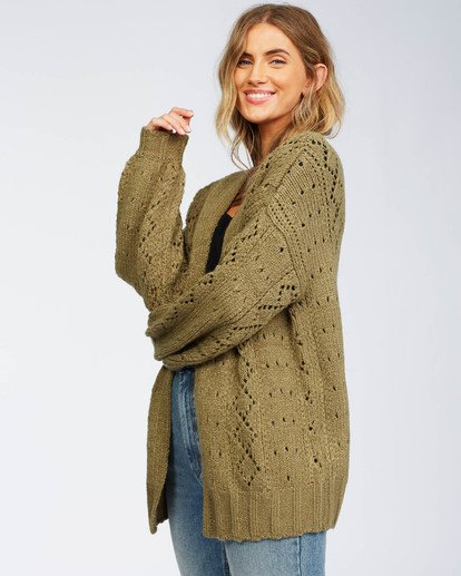 5 Blissed Out Sweater Green JV03WBBL Billabong