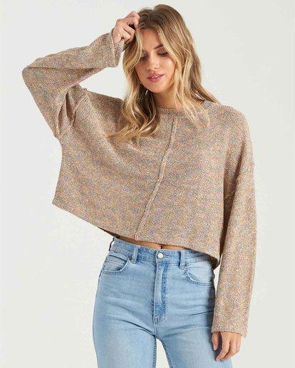 1 Sitting Pretty Sweater Grey JV043BSI Billabong