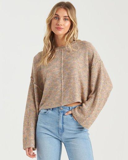2 Sitting Pretty Sweater Grey JV043BSI Billabong