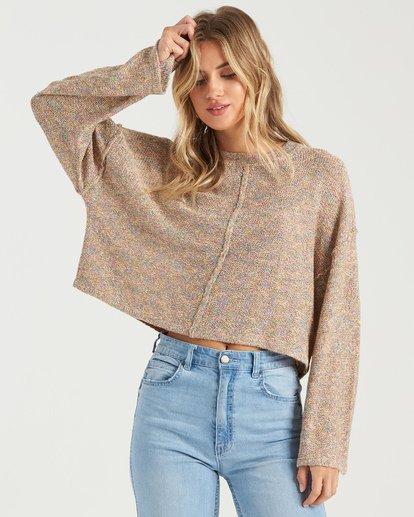 3 Sitting Pretty Sweater Grey JV043BSI Billabong