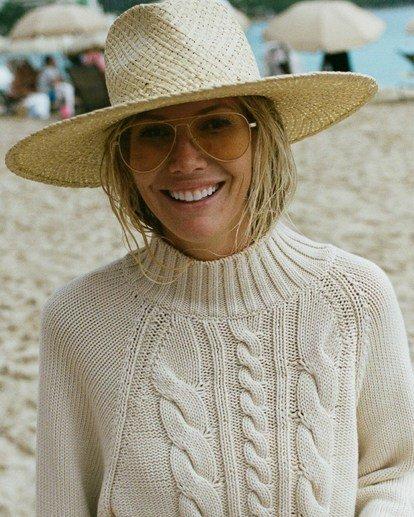 0 Salty Blonde Salty Days Sweater White JV053BSA Billabong