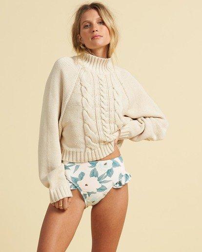 1 Salty Blonde Salty Days Sweater White JV053BSA Billabong