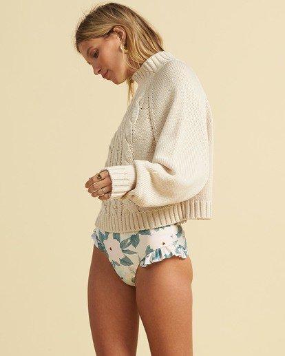 2 Salty Blonde Salty Days Sweater White JV053BSA Billabong