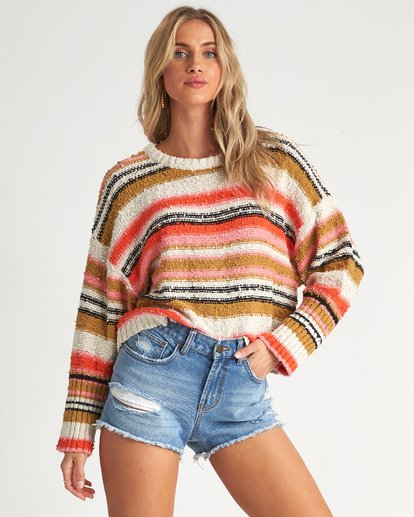 1 Easy Going Sweater Orange JV05TBEA Billabong