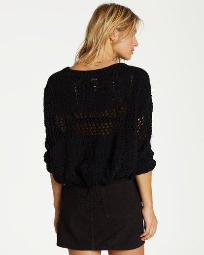 3 On The Horizon Sweater Black JV05VBON Billabong