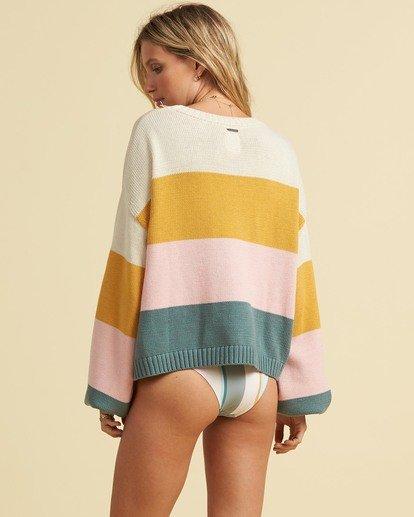 3 Salty Blonde Day Drifter Sweater Grey JV063BDA Billabong