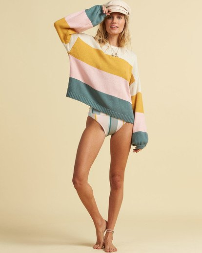 4 Salty Blonde Day Drifter Sweater Grey JV063BDA Billabong