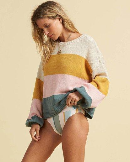 2 Salty Blonde Day Drifter Sweater Grey JV063BDA Billabong