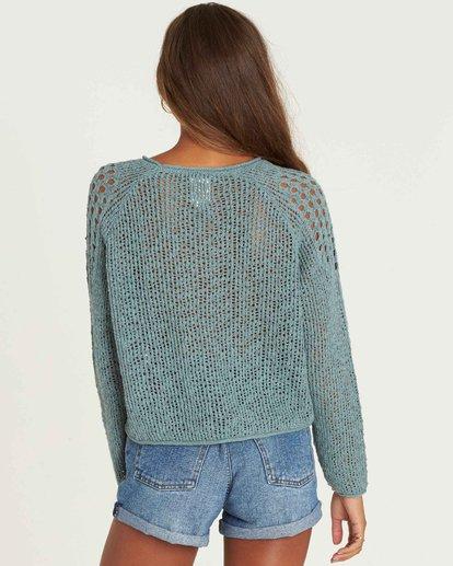 2 Sea Ya Soon Open Knit Sweater  JV06PBSE Billabong