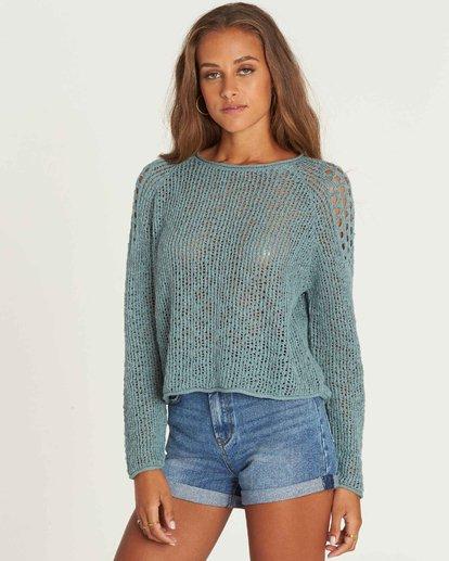 1 Sea Ya Soon Open Knit Sweater  JV06PBSE Billabong