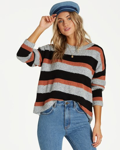 0 Bold Moves Sweater Blue JV06VBBO Billabong