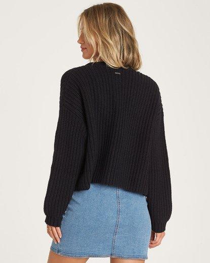 2 Cali Nights Sweater Black JV06WBCA Billabong