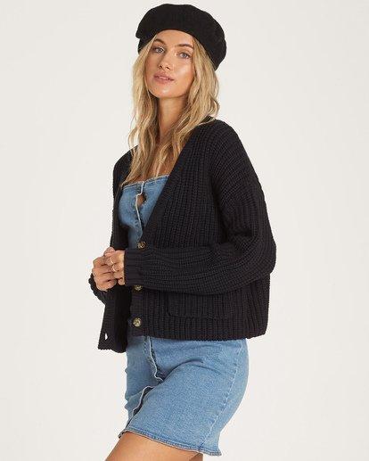 1 Cali Nights Sweater Black JV06WBCA Billabong