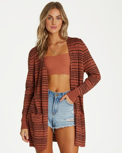 2 Worth It Sweater Brown JV07TBWO Billabong