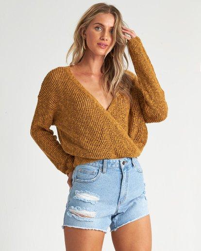 1 Sweet Bliss Sweater Grey JV091BSW Billabong