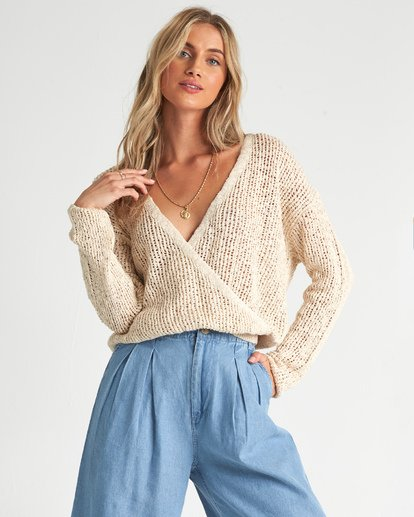 1 Sweet Bliss Sweater White JV091BSW Billabong
