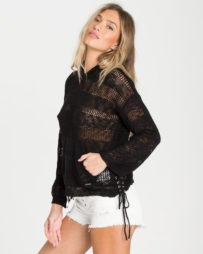 1 To The Limit Sweater Black JV09NBTO Billabong