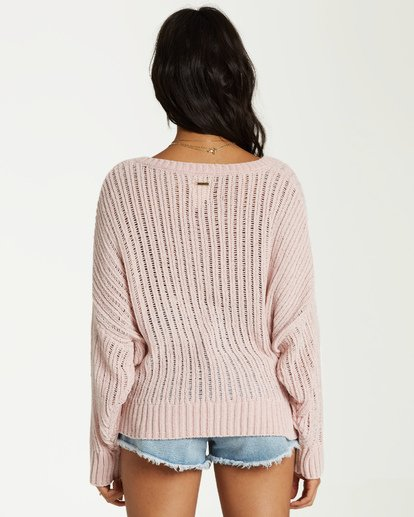 2 Higher Ground Sweater Yellow JV09VBHI Billabong