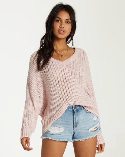 0 Higher Ground Sweater Yellow JV09VBHI Billabong
