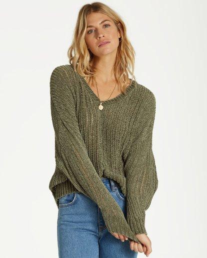 0 Higher Ground Sweater Green JV09VBHI Billabong