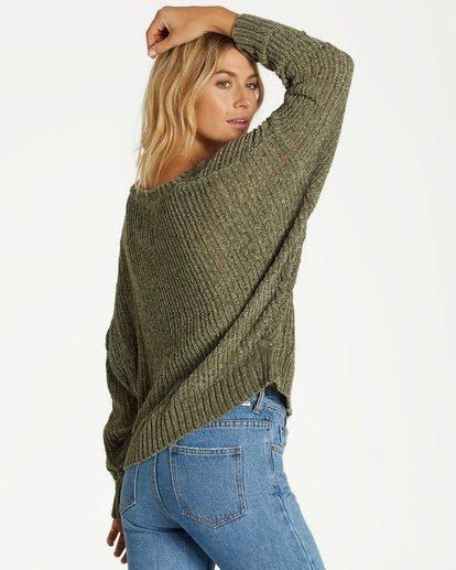 1 Higher Ground Sweater Green JV09VBHI Billabong