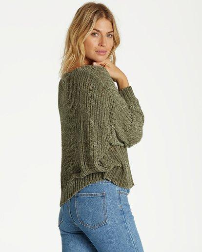 2 Higher Ground Sweater Green JV09VBHI Billabong