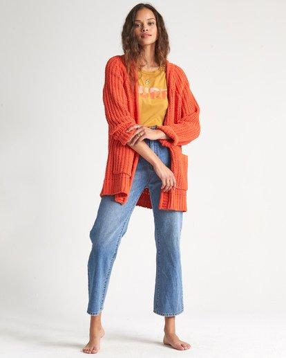 2 Warm Up Sweater Orange JV09WBWA Billabong