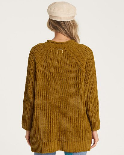 3 Warm Up Sweater Green JV09WBWA Billabong
