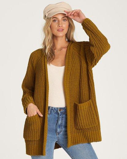 1 Warm Up Sweater Green JV09WBWA Billabong