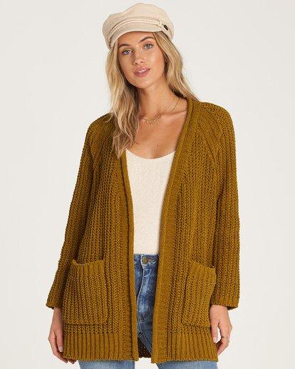 2 Warm Up Sweater Green JV09WBWA Billabong