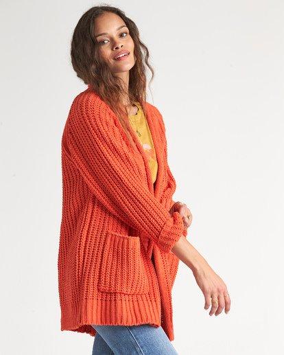 1 Warm Up Sweater Orange JV09WBWA Billabong