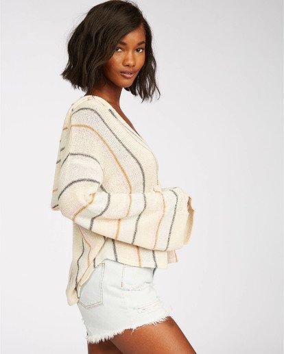2 Baja Beach Sweater White JV101BBA Billabong