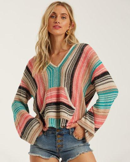 1 Baja Beach Sweater Multicolor JV101BBA Billabong
