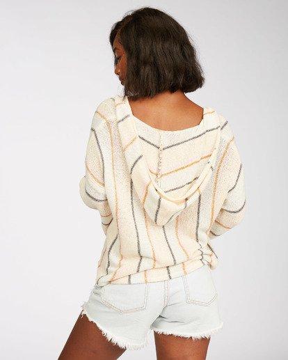 5 Baja Beach Sweater White JV101BBA Billabong