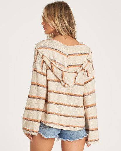 2 Baja Beach Sweater Beige JV101BBA Billabong