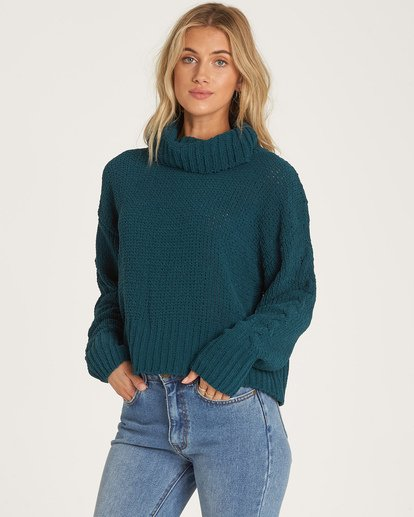 0 Cherry Moon Sweater Green JV11WBCH Billabong