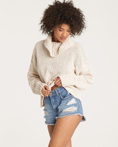 0 Cherry Moon Sweater Beige JV11WBCH Billabong