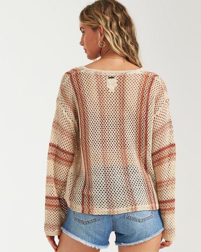 2 Tidal Vibes Sweater White JV12VBTI Billabong