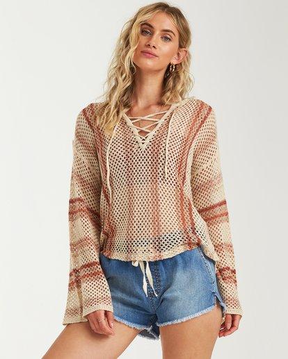 3 Tidal Vibes Sweater White JV12VBTI Billabong