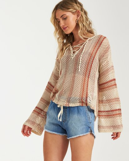 1 Tidal Vibes Sweater White JV12VBTI Billabong