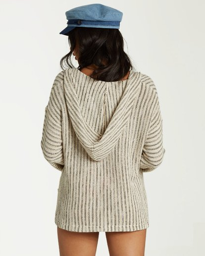 1 Sandy Shores Sweater White JV13VBSA Billabong