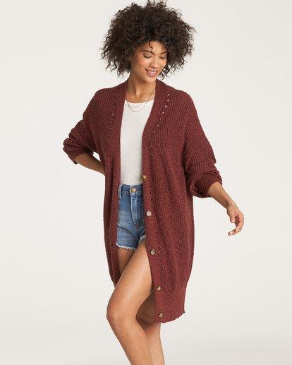 1 Mellow Nights Sweater Purple JV13WBME Billabong