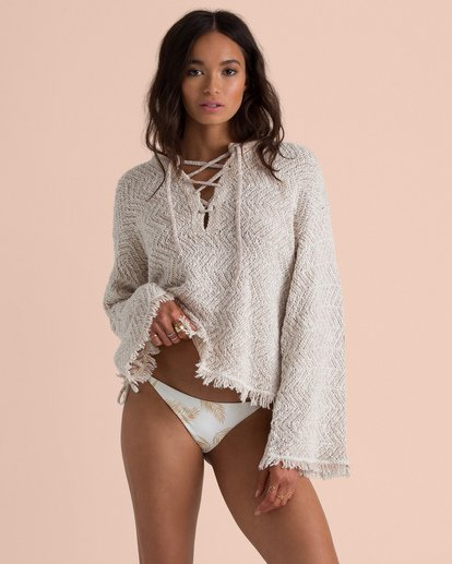 2 Sincerely Jules Palms For Daze Sweater  JV14TBPA Billabong