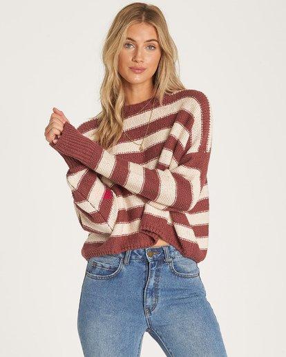 1 Til Sunset Sweater Purple JV17WBTI Billabong