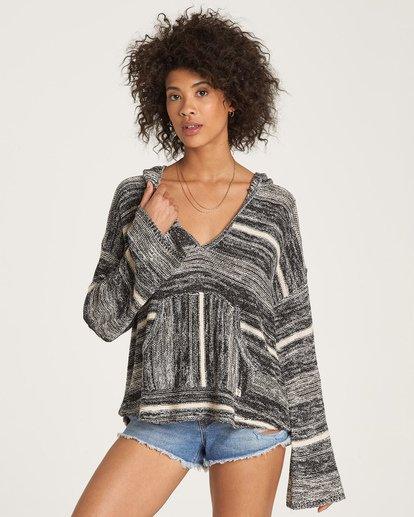 0 Baja Beach Sweater Black JV18WBBA Billabong